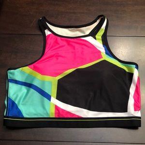 Fabletics sport bra top.  Size m.